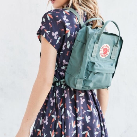 b8f6ff27b2318 Fjallraven Handbags - Fjallraven Kanken Mini Sky-blue backpack